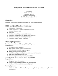 entry level accounting resume com entry level accounting resume and get inspired to make your resume these ideas 6