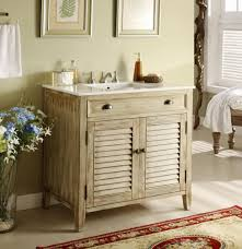 country themed reclaimed wood bathroom storage: bathroom unfinished wood rustic bathroom vanity design with louvered doors barnwood bathroom vanity