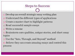 Learn how to write a successful college application essay using the By writinga stellar personal essay SlideShare