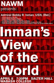 「Deputy Director of the CIA Admiral Bobby R. Inman argued」の画像検索結果
