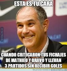 Los mejores memes del Barça-Athletic: Liga Española - ⚽ LIGA ... via Relatably.com