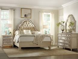 Mirrored Furniture Bedroom Sets Mirrored Tufted Headboard This Fabulously Chic Bedroom Look