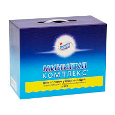 МИНИПУЛ КОМПЛЕКС, 5,6кг коробка, <b>набор химии</b> для полного ...