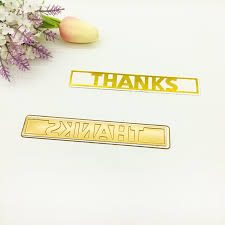 <b>Julyarts New</b> Word Die Thanks Metal Cutting Die <b>2019</b> For ...