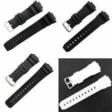 <b>Watch</b> Accessories Band Strap18mm for Cas Resin <b>Black</b> Strap AQ ...
