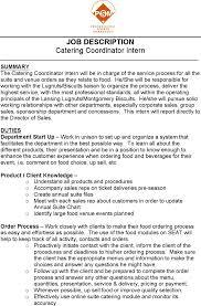 catering resume templates premium templates catering coordinator resume