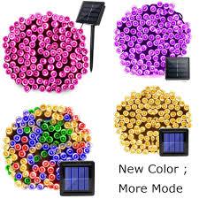 <b>22m 200 LED</b> Solar Lamp Outdoor Waterproof <b>8</b> Modes Garden ...