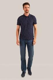 <b>Верхняя сорочка</b> мужская, цвет темно-синий, артикул: S19 ...