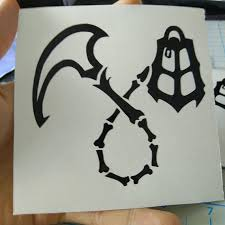 Thresh Hook and Lantern <b>Decal</b> // League of <b>Legends</b> // Vinyl <b>Decal</b> ...