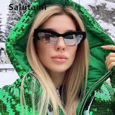 SHUAN 10 Colors Fashion Ladies <b>Cat</b> Eye Sunglasses Brand ...