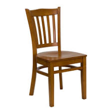 transitional dining chair sch: flash furniture cherry finished vertical slat back wooden restaurant chair dining chairs