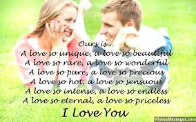 I love you messages for fiancee | WishesMessages.com