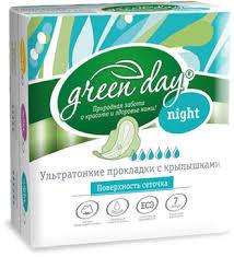 купить средства <b>гигиены GreenDay Прокладки</b> жен Ultra Night Dry ...