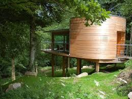 Small Picture Luxury tree houses UK amazing small space created using a Douglas