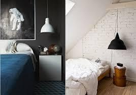 bedroom pendant lighting black and white hanging pendant light bedroom via design lovers blog bedroom light likable indoor lighting design guide