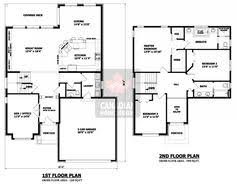images about story plans on Pinterest   Two Storey House    House Plans   House Plans Canada   Stock Custom