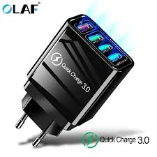 <b>Olaf 10W Fast Wireless</b> Charger For Samsung Galaxy S10 S9/S9+ ...