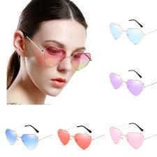 Sunglasses <b>Vintage</b> Love Heart <b>1 PC</b> Women High Quality | Shopee ...