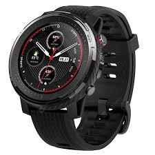 <b>Amazfit Stratos 3</b> Black <b>Smart</b> Watches Sale, Price & Reviews ...