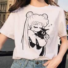 <b>Сейлор Мун</b> 90s забавная <b>Футболка</b> Harajuku <b>одежда футболка</b> ...