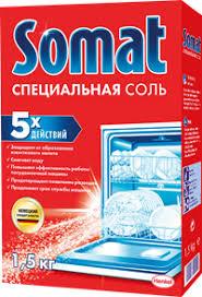 <b>Соль для посудомоечной машины</b> SOMAT – купить в сети ...