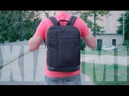 <b>Рюкзак XIAOMI</b> с aliexpress // он меня удивил! - YouTube