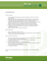 personal banker resume sample best template collection chase personal banker resume