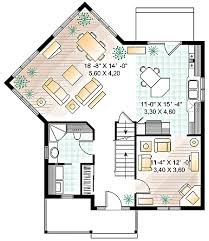 Four Square House Plan   a Twist   DR   nd Floor Master    Floor Plan