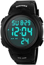SKMEI Mens Digital Watches Waterproof LED ... - Amazon.com