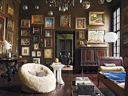 brown bohemian living room bohemian style living room