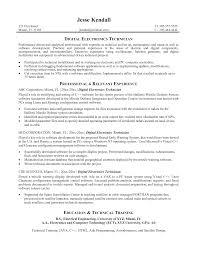 technician resume template  seangarrette co   automotive technician resume template military electronic technician resume example   technician resume