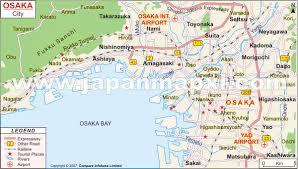 Osaka City Map ile ilgili görsel sonucu Osaka City Map