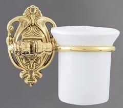 Купить <b>Стакан с держателем</b> античное <b>золото</b> Art&Max Impero ...