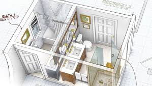 bathroom layouts simple design layout rough typical