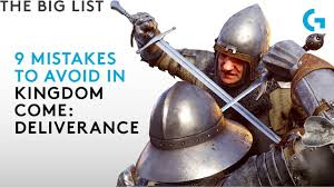 9 mistakes to avoid in <b>Kingdom Come</b>: Deliverance - YouTube