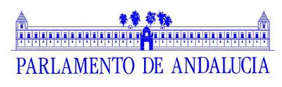 Resultado de imagen de parlamento de andalucia