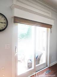 astonishing design patio door window treatment ideas
