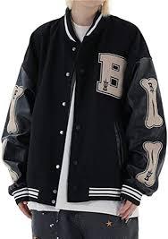 Aelfric Eden <b>Men's</b> Baseball Jacket Varsity Classic <b>Casual</b> ...