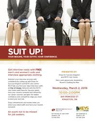 suit up keys dress for success kingston suit up keys