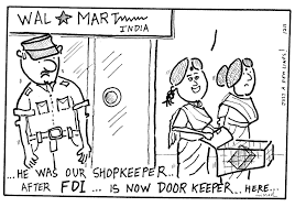 fdi cartoons arriere pensee walmart and fdi cartoon