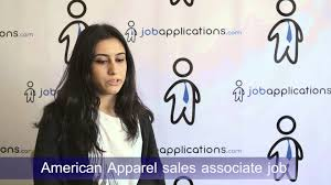 american apparel interview s associate american apparel interview s associate
