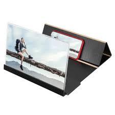 <b>14 inch</b> Wood Grain <b>Mobile Phone</b> Screen Magnifier 3D HD Amplifier