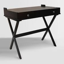 antique black wood dayana flip top desk black desk vintage espresso wooden