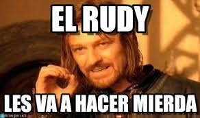 El Rudy - One Does Not Simply meme en Memegen via Relatably.com