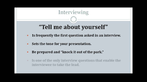 interview tips the question tell me about yourself interview tips the question tell me about yourself