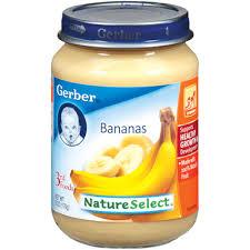 gerber banana baby food recall