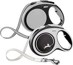 <b>flexi New Comfort</b> Large Retractable Dog Leash <b>Tape</b> 26'/8m Grey ...