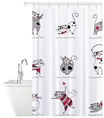 Штора для <b>ванной Tatkraft</b> Funny Cats 14664 180x180 — купить ...