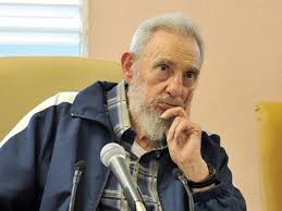 fidel castro criticized obama s sweetened words to n people former n leader fidel castro sits at the inauguration of the vilma espin guillois school in