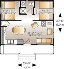 Tiny house  Floors and House on Pinteresthere is the floor plan for the Great Escape   sq ft